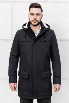 Чоловіче пальто A-199 (Bourbon) купити в Україні,