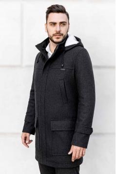 Мужское пальто A-199 (Bourbon),