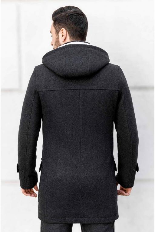 SunsHouse Чоловіче пальто A-199 (Bourbon) - Фото 3 - Sun's House