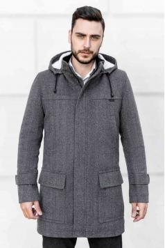 Чоловіче пальто E-199 (Bourbon) купити в Україні,