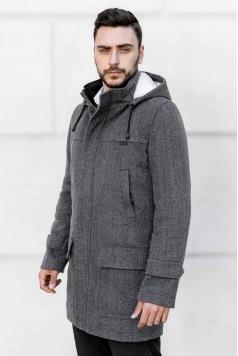 Мужское пальто E-199 (Bourbon),