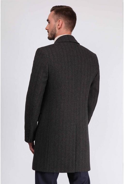 SunsHouse Мужское пальто E-500 (Bond) - Фото 3 - Sun's House