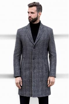 Чоловіче пальто H-161 (Quadri),