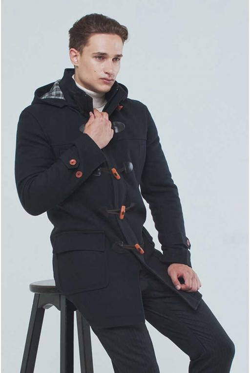 SunsHouse Чоловіче пальто K-098 (Duffle coat) - Фото 4 - Sun's House