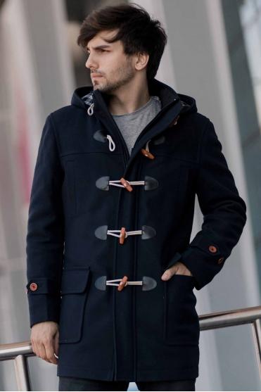 Чоловіче пальто K-099 (Duffle coat) Фото 1 - Sun's House