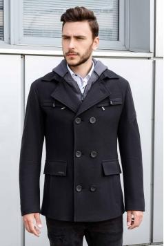 Чоловіче пальто K-453 (Navi) купити в Україні,