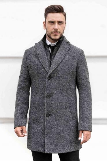 Чоловіче пальто T-043 (iClass) Фото 1 - Sun's House
