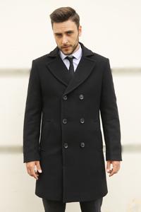 Классическое мужское осеннее пальто 2021 - Фото
