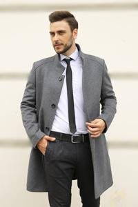 Модные мужские пальто осень 2021 - Фото