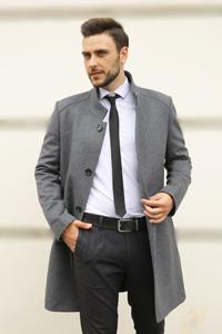 Мужская мода пальто 2021 - Фото