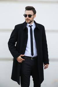 Мужское пальто осень весна 2021 - Фото