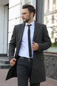 Мужское пальто осень 2021 - Фото
