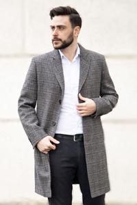 Мужское весеннее пальто 2021 - Фото