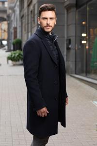 Пальто мужское молодежное купить - фото