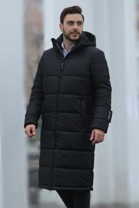 Пуховое пальто мужское - фото