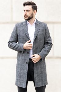 Весеннее мужское пальто 2021 - Фото