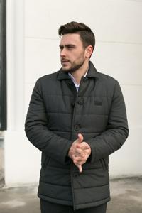 Дутая мужская куртка