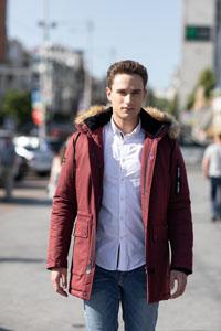 Мужская куртка с капюшоном Одесса - фото