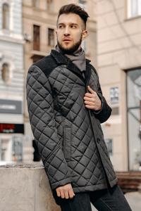 Мужские куртки демисезонные стеганные