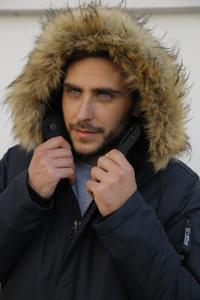 Мужские куртки с мехом - фото
