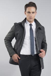 Стеганая мужская куртка Львов - фото