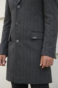 Длина рукава мужского пальто - фото