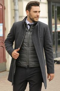 Можно ли носить пиджак под пальто мужчине? - фото