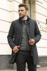Мужские пальто оптом от производителя - фото