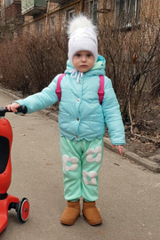 Утеплители детских курток