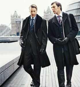 Длина пальто мужского - фото