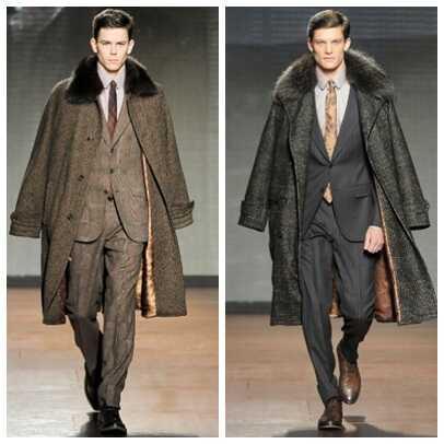Как гладить мужское пальто - фото