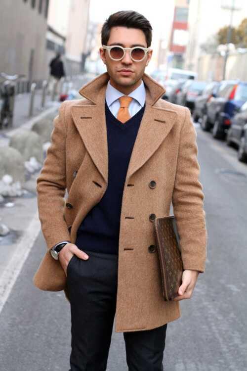 Как правильно выбрать пальто парню - фото