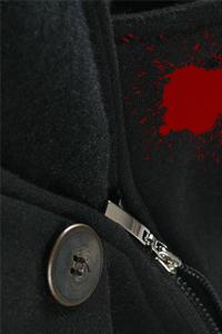 Как вывести пятна крови с пальто