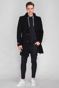 Какое мужское пальто носить под скинни, слимбрюки и классические ботинки - фото