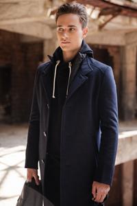 Купить мужское пальто Одесса - фото