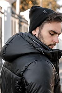 Мужская куртка с капюшоном Николаев - фото