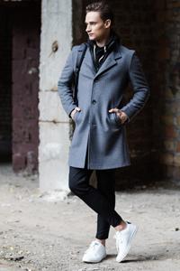 Мужское пальто как должно сидеть - фото