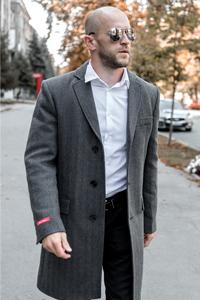 Мужское пальто на невысокий рост