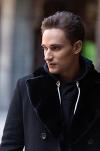 Мужское пальто с утеплителем купить