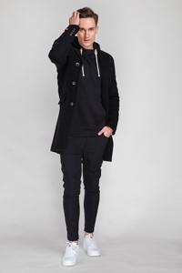 Мужское пальто для студента - фото