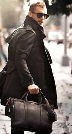 Почему мужчины ходят в пальто - фото