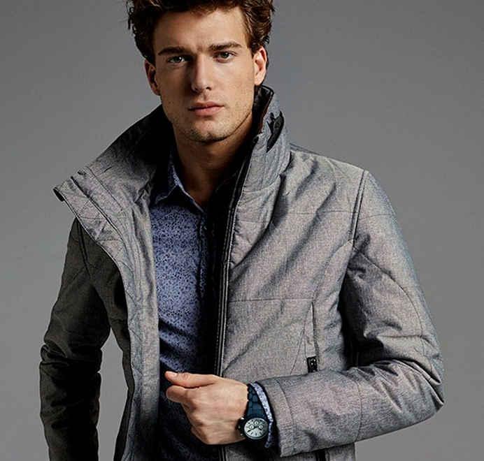 Полезные советы мужчинам - с чем носить длинную зимнюю куртку от SunsHouse?