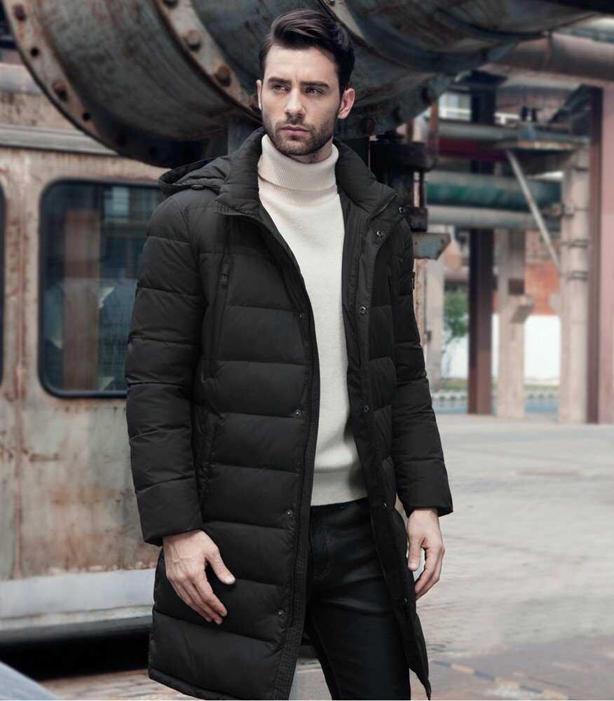 Пуховик пальто мужской