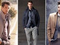 Зимнее мужское пальто Львов