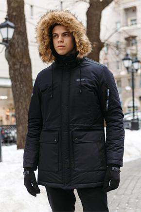 мужские куртки аляски больших размеров