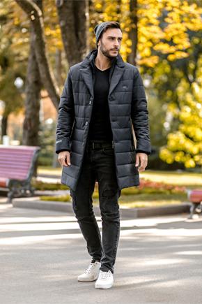мужская куртка демисезонная классическая