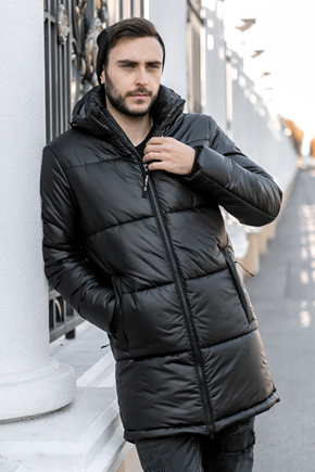 длинная куртка мужская