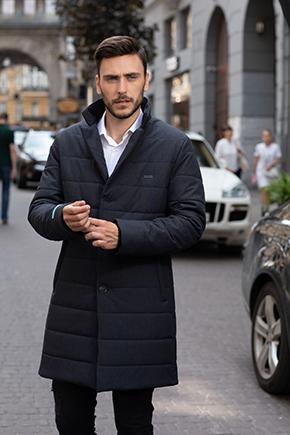 Куртка до коліна чоловіча
