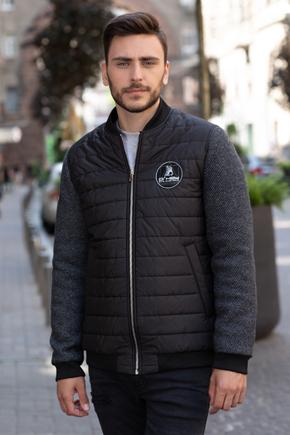 куртка мужская комбинированная