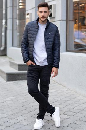 куртка мужская короткая